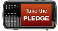 Cell Phone Users: Pledge to put it down